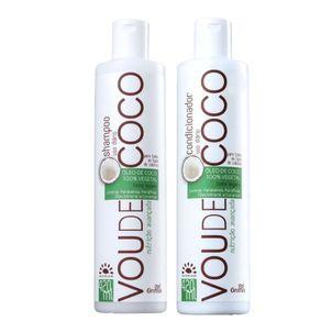 Kit Vou De Coco Shampoo + Condicionador 420 Ml